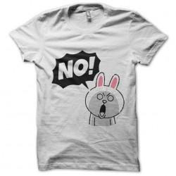 Saying rabbit agape Say NO...