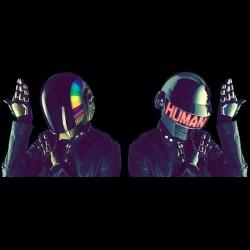Daft Punkedition t-shirt limited humanoides black sublimation