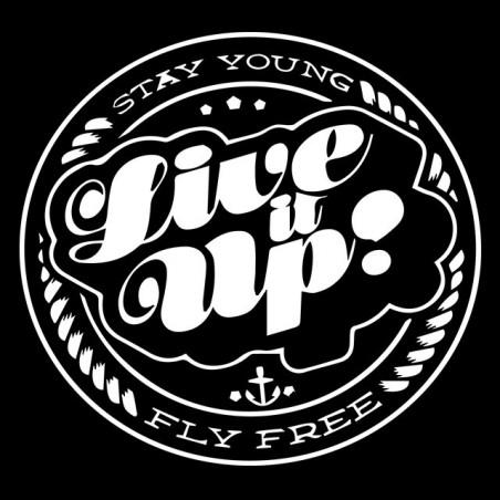 T-shirt Live it up black sublimation