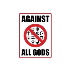 Tee shirt anti religions...