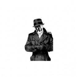 Watchmen Rorschach t-shirt portrait photo white sublimation