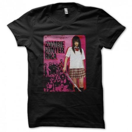 T-shirt Zombie Hunter Rika black sublimation