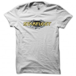 Star Trek Starfleet classic white sublimation t-shirt