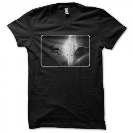 Gravity astronaut explosion black sublimation t-shirt
