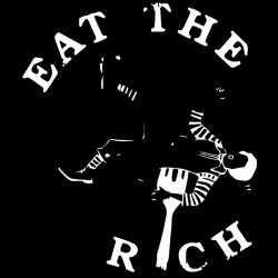 Tee shirt eat the rich 2...