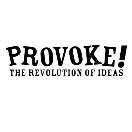 Provocation Revolution white sublimation t-shirt