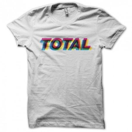 New order Total Peter Saville t-shirt, Joy division white sublimation