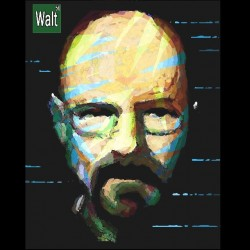 tee shirt Breaking Bad  Walt  sublimation