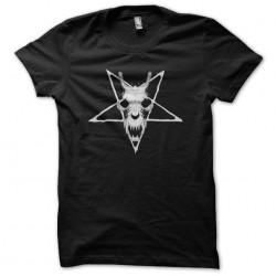 Satanist pentacle skull...