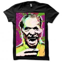 charles bukowski t-shirt black sublimation