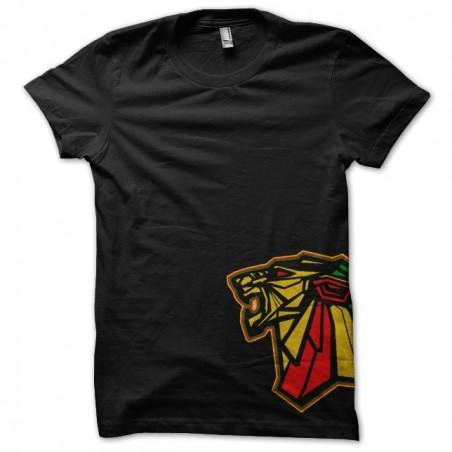 T-shirt LION of JUDAH big black model sublimation