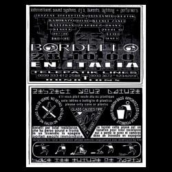 T-shirt BORDELLO23 tecknival italian black sublimation