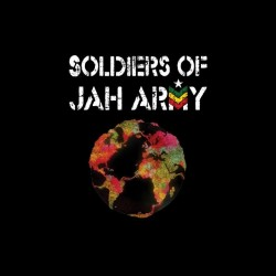 Soldiers of Jah Army black sublimation t-shirt