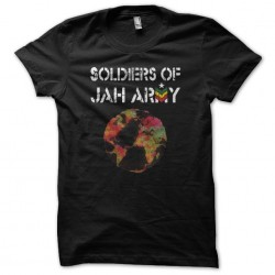 Tee shirt Soldiers of Jah...