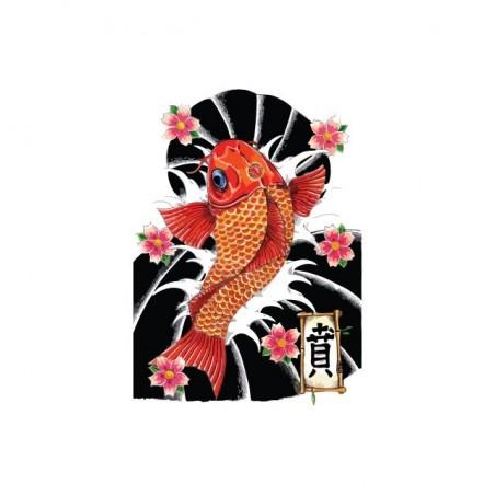 Japanese tattoo shirt Kyokushin white sublimation