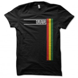 The Cimarons black sublimation collector's t-shirt