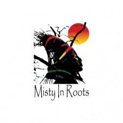 T-shirt Misty in Roots sunset white sublimation