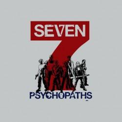 Tee shirt 7 psychopaths mix...