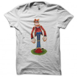 Candy crush white character sublimation t-shirt