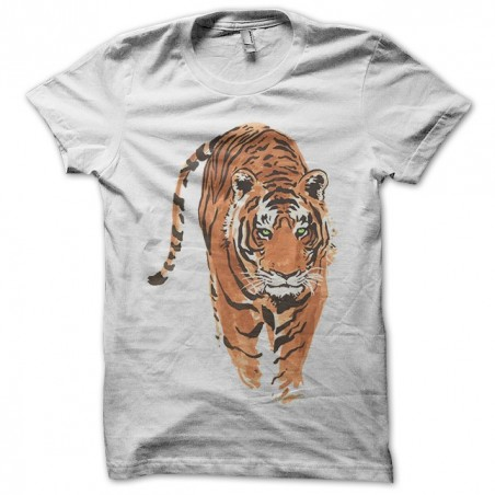 Tiger shirt tattoo white sublimation t-shirt