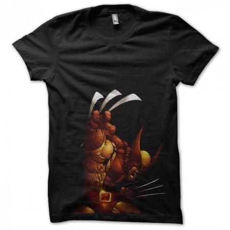 Wolverine Killer gold Hero t-shirt illustration black sublimation