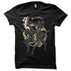 Mask rider t-shirt HIBIKI three rider black sublimation