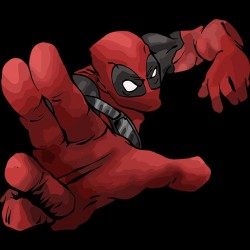 Tee shirt du comic Deadpool en  sublimation