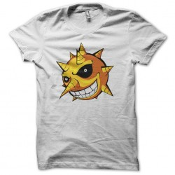 Sun sun in soul eater t-shirt in white sublimation