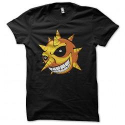 Sun sun in soul eater t-shirt in black sublimation