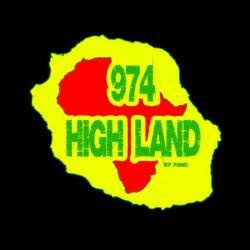 974 HIGHLAND Black sublimation t-shirt