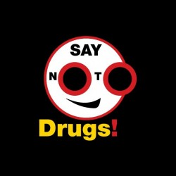 Say drugs anti-drugs...