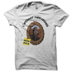 Tee shirt Les robins de bois The Norwegian moment Frih Deh Bi From Uh white sublimation
