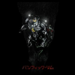 Jaeger Japanese robot black...