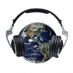 Planet earth is my dj white...