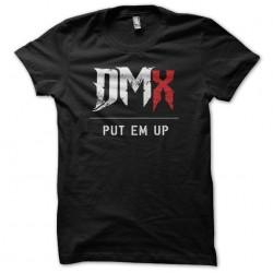 T-shirt DMX Put Em Up black...