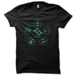 Change Crynet fashion t-shirt video game crysis black sublimation
