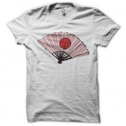 T-shirt for Japan fan in white sublimation