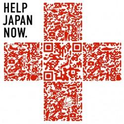 T-shirt help the Japan QR code white sublimation