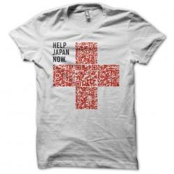 T-shirt help the Japan QR...