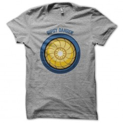 Tee shirt Gipsy Danger power booster gris sublimation