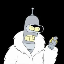 shirt Bender Fur Coat black...