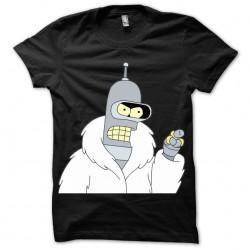 shirt Bender Fur Coat black sublimation