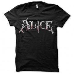 Tee shirt Alice est dingue  sublimation