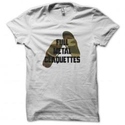 Full Metal T-shirt parody Full Metal Jacket White Sublimation T-shirts