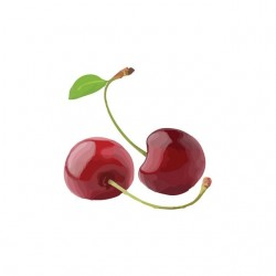 T-shirt white cherries...