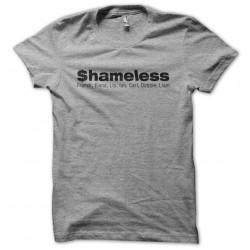 Tee shirt Shameless famille...