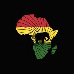 Tee shirt africa unit  sublimation