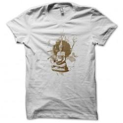 Artistic Buddha T-shirt white sublimation