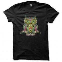 Tee shirt Chouette psychédélique  sublimation