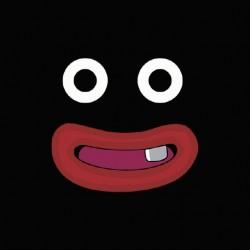 Mr Popo parody black sublimation t-shirt